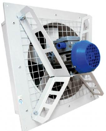 Оконный осевой вентилятор ВО-8.0 380В