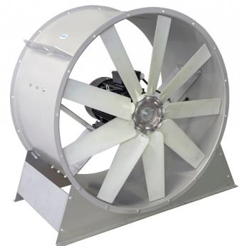 Осевой вентилятор ВО 5.6 (3000-7.5 кВт)