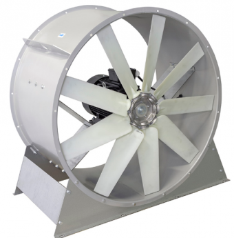 Осевой вентилятор ВО 8.0 (1000-0.75 кВт)