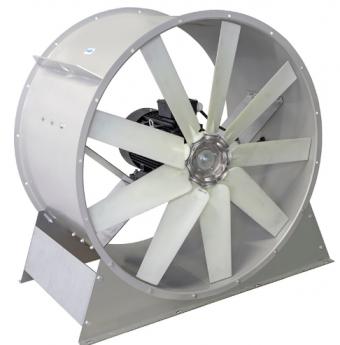 Осевой вентилятор ВО 8.0 (1000-1.5 кВт)