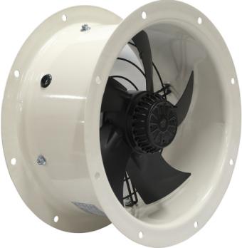 Осевой вентилятор YWF(K)4E-350 на фланцах