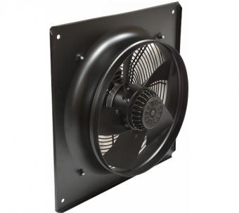 Осевой вентилятор YWF(K)4E-450 с настенной панелью