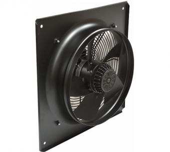 Осевой вентилятор YWF(K)4E-550 с настенной панелью