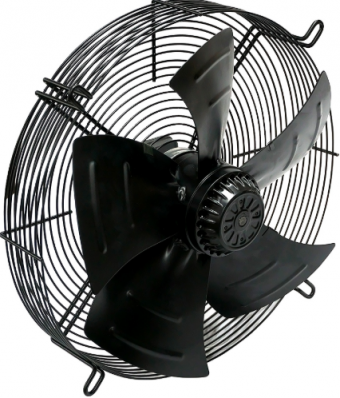 Осевой вентилятор YWF(K)4D-400 с защитной решеткой