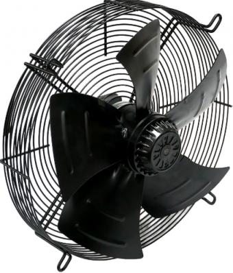 Осевой вентилятор YWF(K)4E-500 с защитной решеткой