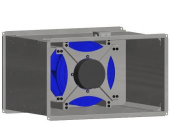 Вентилятор канальный Shuft Tornado Twin EC 500x250-18-E