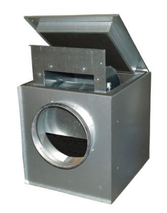 Шумоизолированный вентилятор Systemair KVK 400 Ins. Circ. duct fan