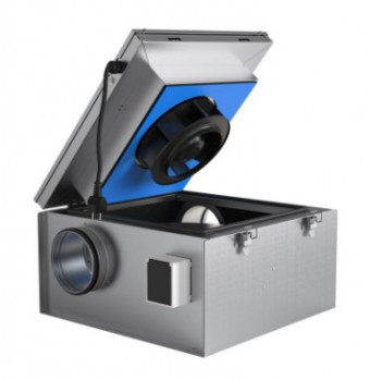 Шумоизолированный вентилятор Systemair KVKE315M Circ duct fan
