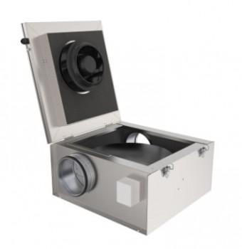 Шумоизолированный вентилятор Systemair KVKE 160 sileo