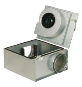 Шумоизолированный вентилятор Systemair KVO 250 Circ duct fan