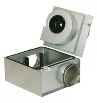 Шумоизолированный вентилятор Systemair KVO 315 Circ duct fan