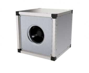 Квадратный канальный вентилятор Systemair MUB 025 355E4 sileo Multibox