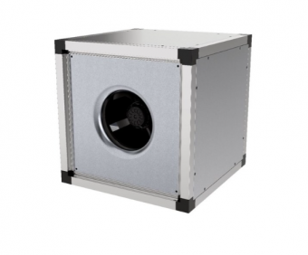 Квадратный канальный вентилятор Systemair MUB 042 450DV sileo Multibox