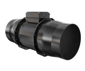 Канальный вентилятор Systemair Prio 150EC circular duct fan