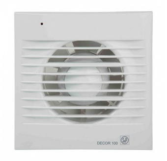 Накладной вентилятор Soler Palau DECOR-100CR