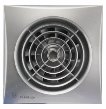 Накладной вентилятор Soler Palau SILENT Silver-200 CZ
