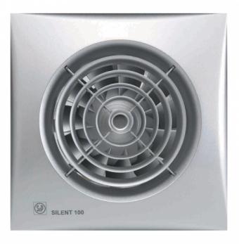 Накладной вентилятор Soler Palau SILENT Silver-100 CHZ