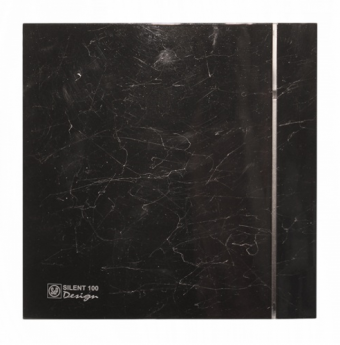 Накладной вентилятор Soler Palau Silent Marble Black Design 100 CZ 4C