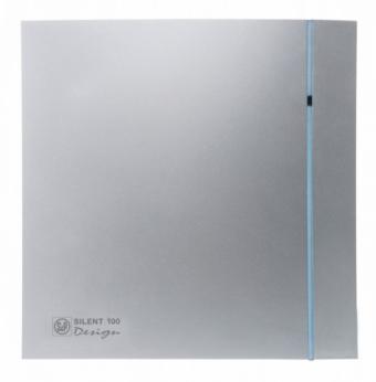 Накладной вентилятор Soler Palau Silent Silver Design 100 CZ