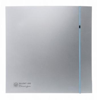 Накладной вентилятор Soler Palau Silent Silver Design 200 CZ 3C
