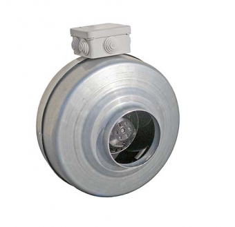 Вентилятор канальный Ванвент ВКВ-160E (ebmpapst)