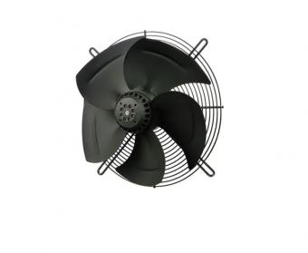 Вентилятор Ванвент YWF4S-350BB осевой на плоской сетке