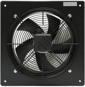 Вентилятор осевой YWF(K)4E400-B с настенной панелью